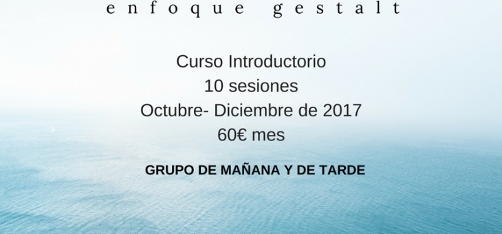 Curso Mindfulness ( enfoque Gestalt)